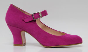 zapato de flamenca, zapato de feria, tacones de feria