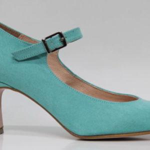 zapato de feria, tacones de flamenca